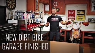 How to build Dirt Bike Garage - introducing my new place.