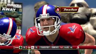 All Pro Football 2K8 - Philadelphia Americans vs Carolina Cobras Full Game (2K All Pro Football)