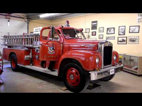 Vintage Winnipeg Fire Truck