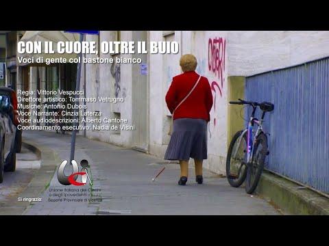 Con il cuore, oltre il buio - Voci di gente col bastone bianco (documentario completo)