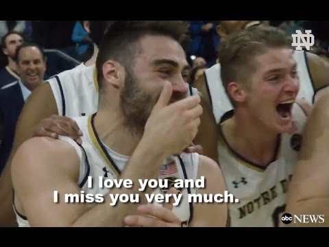 Soldier Surprises Brother At Notre Dame Game