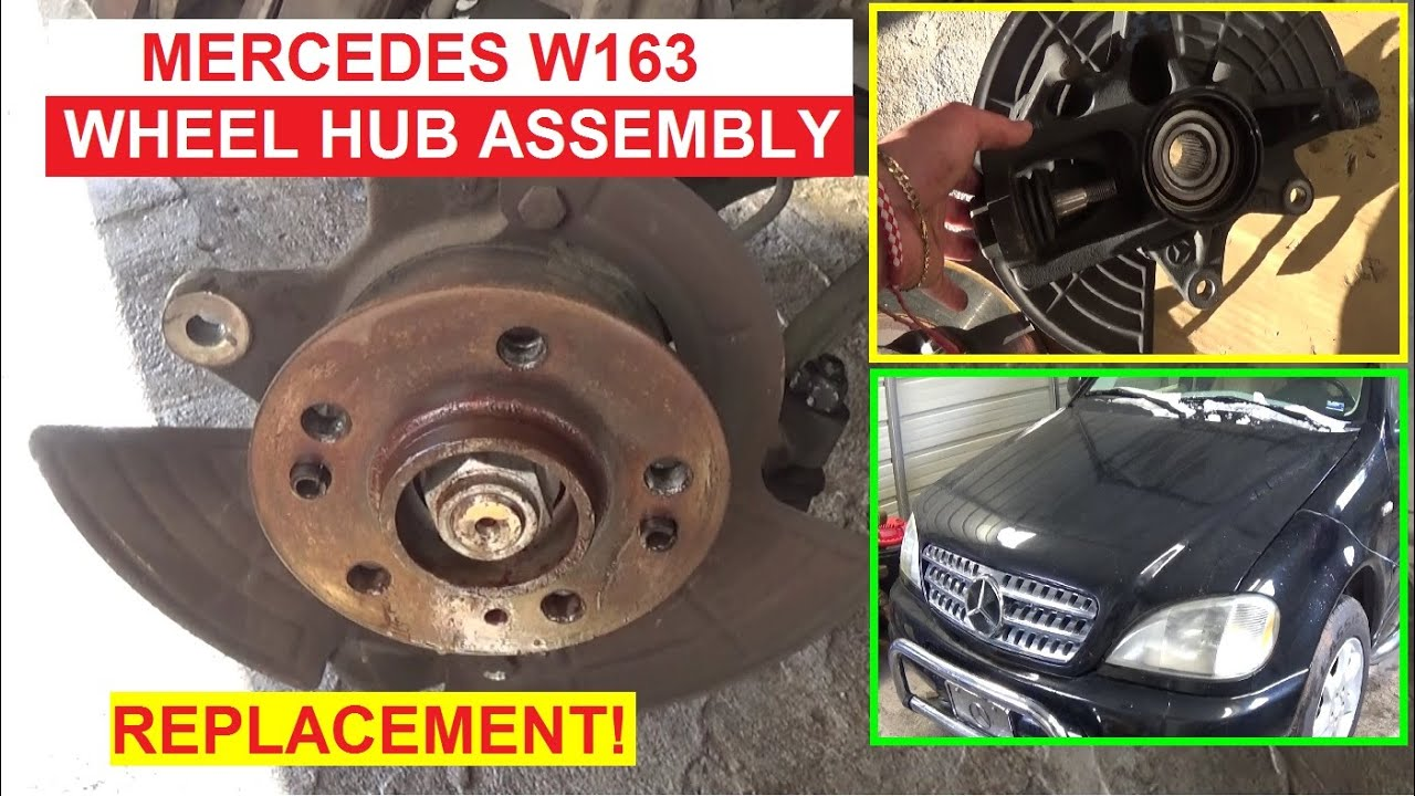 Mercedes-Benz E-Class: Changing a wheel