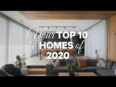 Your Top 10 Australian Homes of 2020! 💯Luxury Home Tours, Eco Cabins & Multi Million Dollar Homes