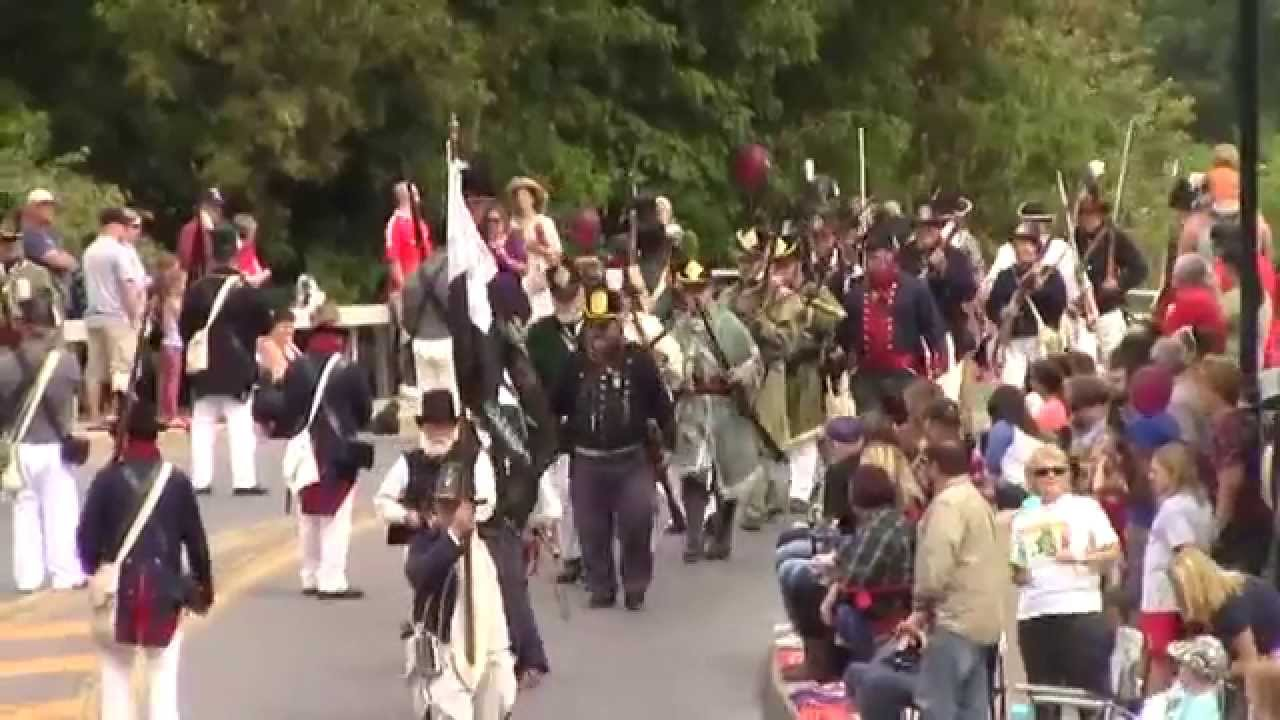 OLC - Battle of Plattsburgh Parade  9-12-15
