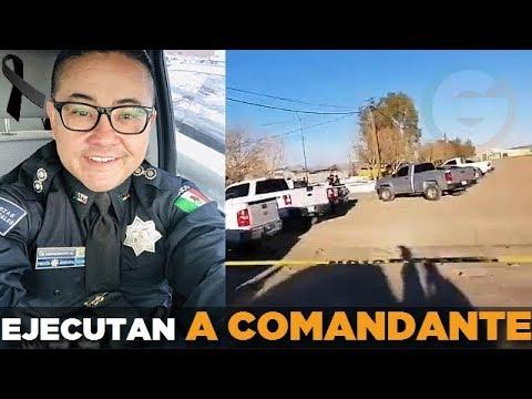 Era Comandante de inteligencia de la Policía de Ciudad Juárez #Chihuahua