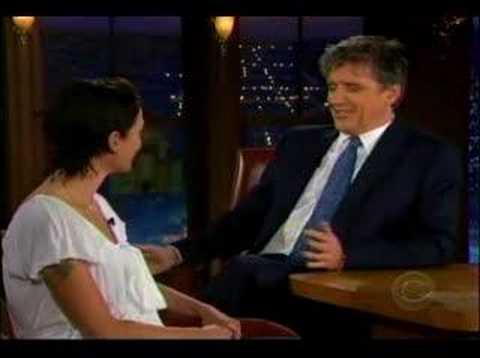 Lena Headey on The Late Late Show
