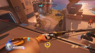 Overwatch    Horrible Hanzo aim But still stop the payload on Gibraltar Def