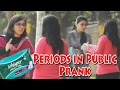 Girls Periods in Public - Asking for Whisper Pad - Prank cum Social Exp. | THF   Ab Mauj Legi Dilli