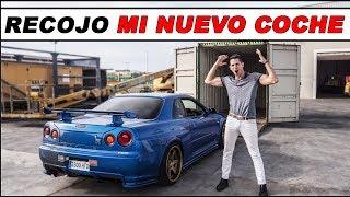 ¡¡ RECOJO MI NUEVO COCHE !! NISSAN SKYLINE GTR R34 | Supercars of Mike