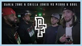 DANJA ZONE & CHILLA JONES VS PEDRO & SOUL | Don