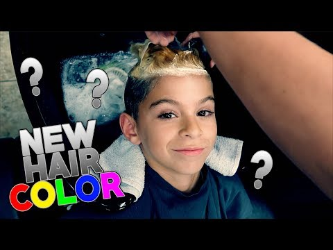 I DYED MY HAIR!! (Can You Guess What Color) Funhouse Vlog