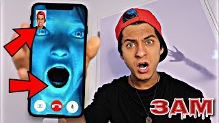 DO NOT FACETIME SIRI AT 3AM!! *OMG SHE ACTUALLY CAME TO MY HOUSE*