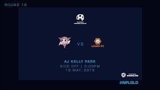 NPL R16 - Peninsula Power vs Lions FC
