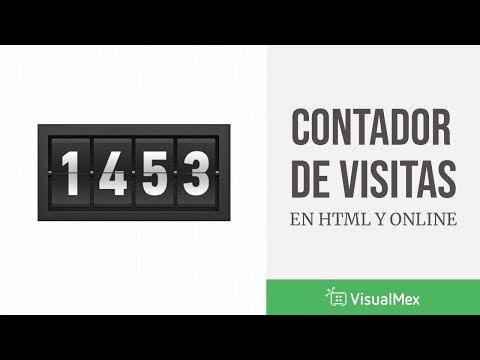 Contador de visitas para tu página web en HTML from YouTube · Duration:  2 minutes 51 seconds