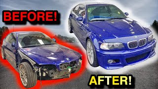 Rebuilding AN ICONIC BMW ZCP E46 M3 In 10 Minutes!