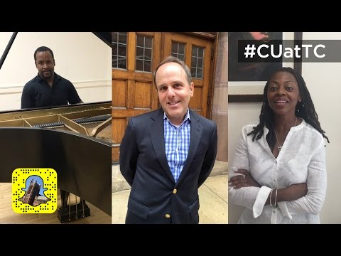 "Taste of TC - ""Welcome New Students"" Snapchat Video - Teachers College, Columbia University"