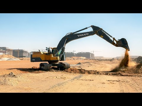 Volvo CE – The Megaproject Listing #7 - Building a new capital Cairo, Egypt