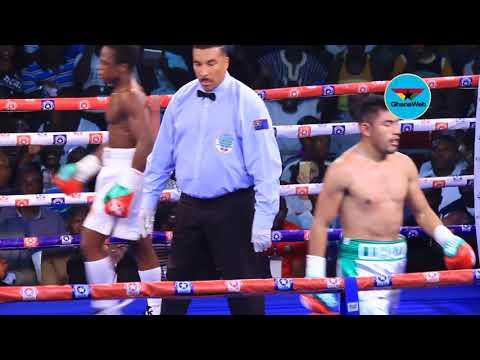 FULL FIGHT: Isaac Dogboe knocks out Cesar Juarez