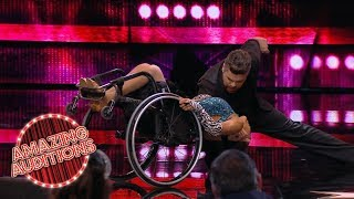 EMOTIONAL Dancer In WHEELCHAIR Blows The Judges And The World Away | Amazing Auditions