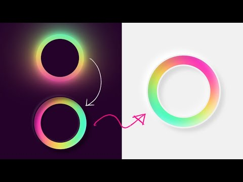 Neumorphism Gradient Loader Ring Animation Effects using Html & CSS | Light Version