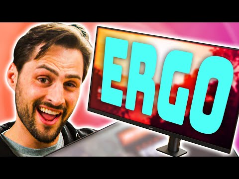 Every Monitor Should Have This! - LG UltraFine Ergo