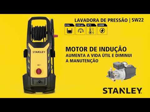 STANLEY Ferramentas - Lavadoras de Pressão Review Técnico - SW19 / SW21 / SW22 / SW25