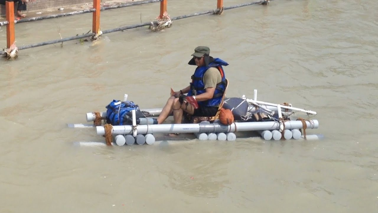 Pvc pipe boat shelter