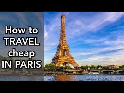 Travel CHEAP In PARIS - Navigo Pass