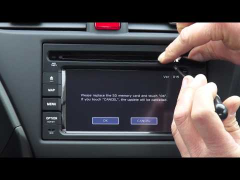 Honda SD navigation update manual
