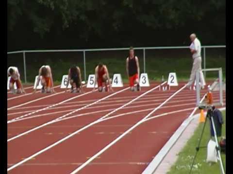 3de divisie Senioren competitie Alexander Kirkels 100 meter
