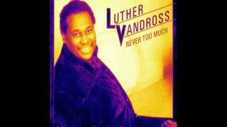 Luther Vandross - Never Too Much (Funkhameleon Disco Love Remix)