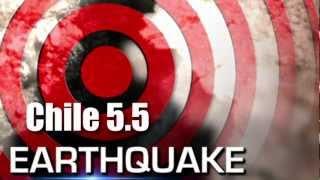 Powerful 5.5 EARTHQUAKE Struck CHILE... January 13, 2013.