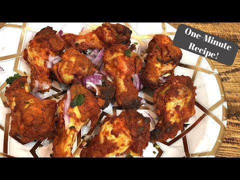 SLIMMING WORLD SYN FREE TANDOORI CHICKEN WINGS I One-Minute Recipe!