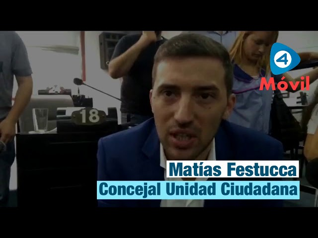 """Quilmes: Festucca asumió como concejal y dijo a Cuatro Medios que harán una """"oposición constructiva"""""""