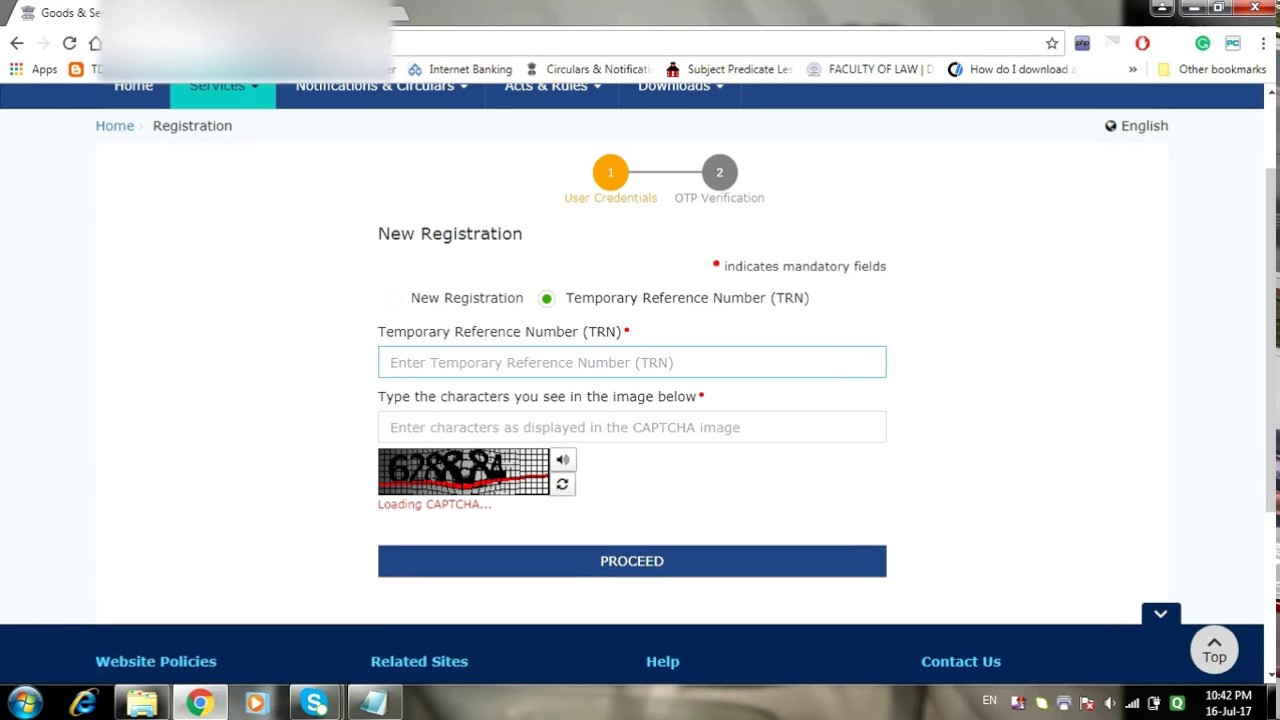 how to reply for show cause notice scn for query raised on application for new gst registration