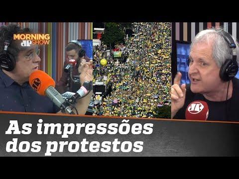 Edgard questiona e Augusto Nunes responde: 'Não vi nada que justificasse a suspeição de Moro'