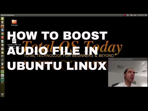 How To Boost Podcast MP3 In Ubuntu