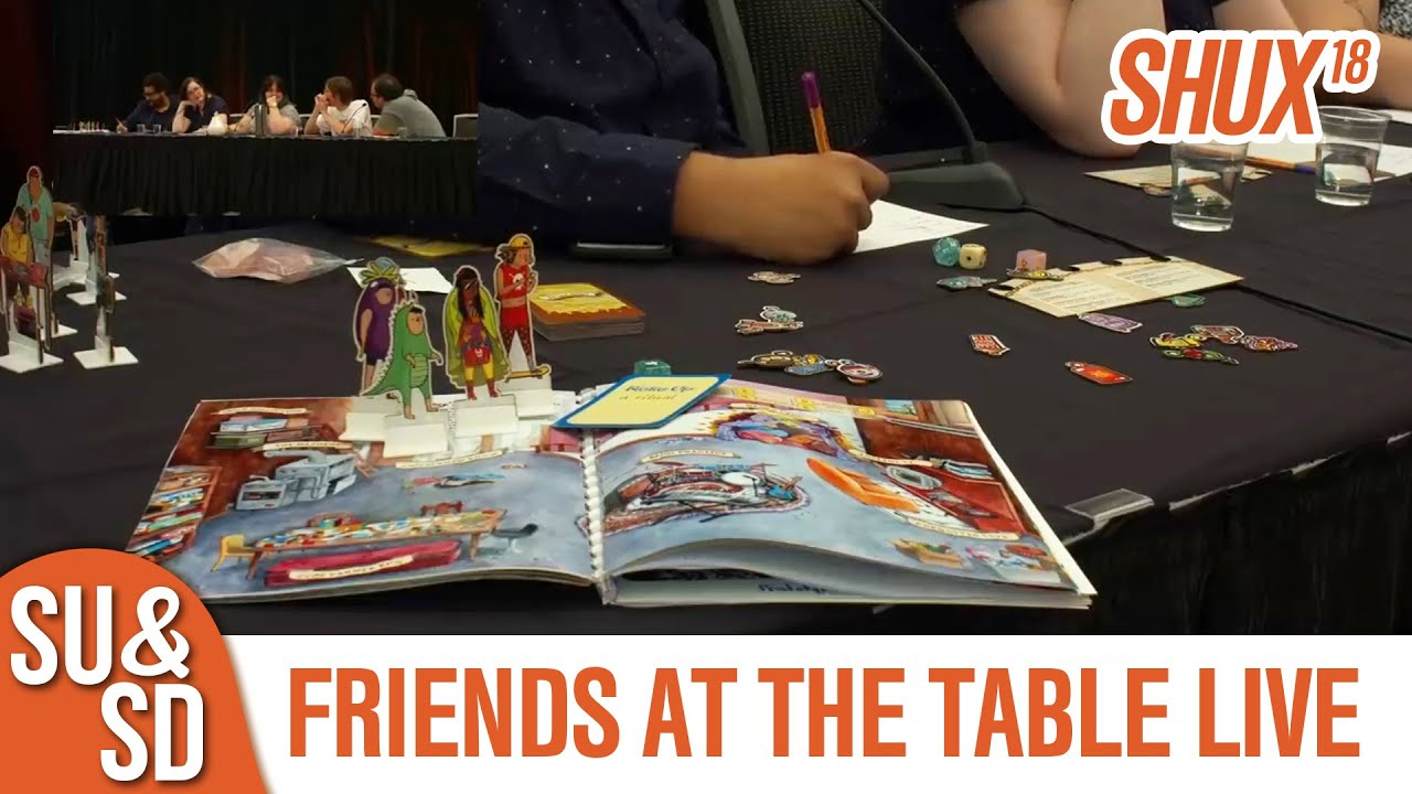Friends At The Table Bff Live Shux
