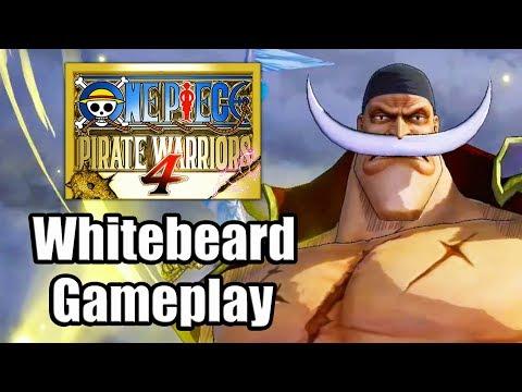 One Piece: Pirate Warriors 4 (2020) - Whitebeard Gameplay [PS4 Pro]