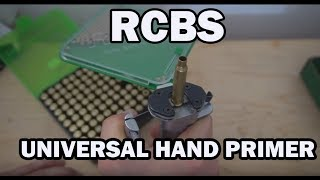 RCBS Universal Hand Priming Tool UNBOXING, SET UP & REVIEW HD