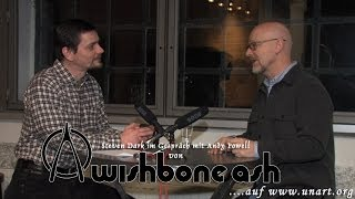 UnArt Live TV - Interview Andy Powell from Wishbone Ash, Zentrum Altenberg Oberhausen 2014