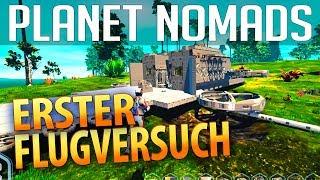 PLANET NOMADS #024 | Ein erster Flugversuch | Gameplay German Deutsch thumbnail