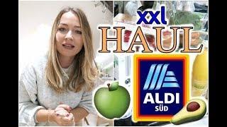 XXL ALDI FOOD HAUL I Wocheneinkauf I NadineMari