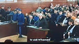 شاهد الحوار الذي دار بين أويحي والقاضي حول قضايا الفساد في محاكمة 4 ديسمبر 2019