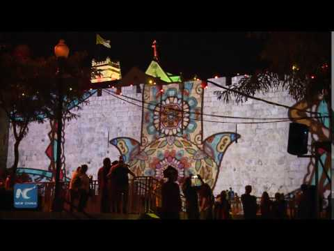 2017 Jerusalem Festival of Light illuminates Old City