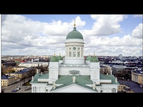 Helsinki Cathedral, Finnish Evangelical Lutheran Church, St Nicholas' Mavic Pro Drone