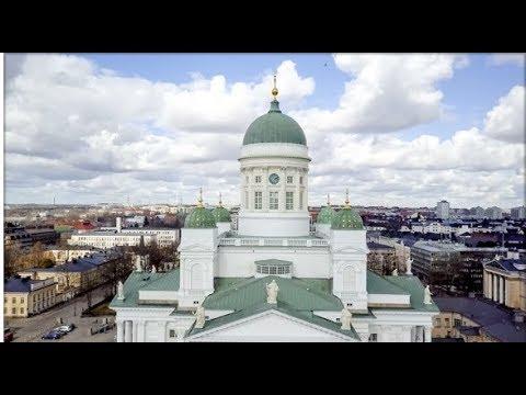 Helsinki Cathedral, Finnish Evangelical Lutheran Church, St Nicholas' Mavic Pro Drone