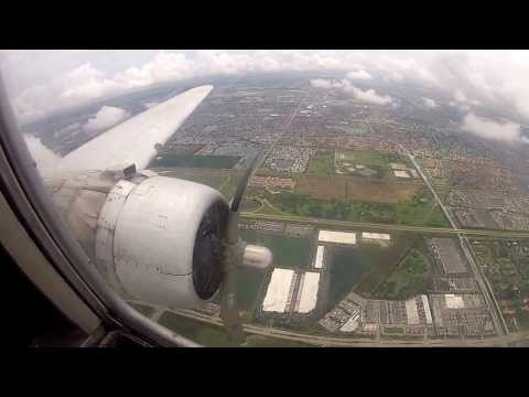 Atlantic Air Cargo, N437GB, IFR Approach, GoPro Hero 2