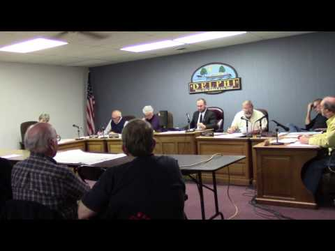 City of Delphi, Indiana 12-5-16 City Council Meeting (2)