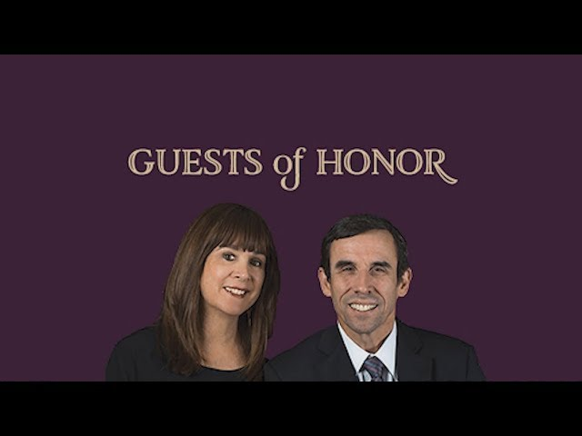 Guests of Honor: Jonathan & Abby Rubin